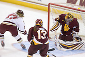 Danielle Welch (BC - 17), Tara Gray (Minnesota-Duluth - 13), Jennifer Harss (Minnesota-Duluth - 87) - The University of Minnesota-Duluth Bulldogs defeated the Boston College Eagles 3-0 on Friday, November 27, 2009, at Conte Forum in Chestnut Hill, Massachusetts.