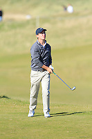 Miguel Duenas (AM) on the 7th fairway at Kingsbarns during Round 1 of the 2015 Alfred Dunhill Links Championship at the Old Course St. Andrews in Scotland on 1/10/15.<br /> Picture: Thos Caffrey | Golffile