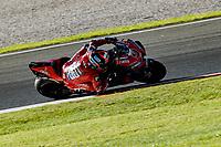 16th November 2019; Circuit Ricardo Tormo, Valencia, Spain; Valencia MotoGP, Qualifying Day; Danilo Petrucci (Ducati)   - Editorial Use
