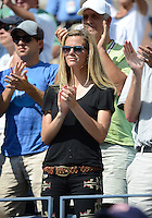 FLUSHING NY- AUGUST 28: Brooklyn Decker is sighted during the Roddick  Vs Williams match on Arthur Ashe stadium at the USTA Billie Jean King National Tennis Center on August 28, 2012 in in Flushing Queens. mpi04/mediapunchinc /NortePhoto.com<br />