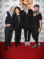 HOLLYWOOD, CA - NOVEMBER 11: Matthew Weiner, Lily Tomlin, David O. Russell and Zanne Devine at the premiere of 'Flirting With Disaster' at AFI Fest 2016, presented by Audi at TCL Chinese 6 Theater on November 11, 2016 in Hollywood, California. Credit: Faye Sadou/MediaPunch