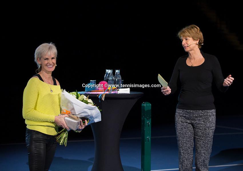 Rotterdam, Netherlands, December 16,  2016, Topsportcentrum,  Coaches Congress , Judy Murray.<br /> Photo: Tennisimages/Henk Koster