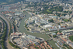 Bristol Harbourside from the Air