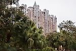 Luxury high-rise condo in an expensive residential neighbourhood in Hu Jing Lu, Chancheng Qu, Huanhu Garden, Foshan city, Guangdong, China. 2016