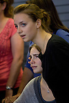 Deanna Knox, left, comforts her sister, Amanda, during a news conference held  at the Seattle-Tacoma International Airport near Seattle, Washington on October 4, 2011. Knox arrived in the United States after departing Rome's Leonardo da Vinci airport,. Knox's life turned around dramatically Monday when an Italian appeals court threw out her conviction in the sexual assault and fatal stabbing of her British roommate.  ©2011. Jim Bryant Photo. All Rights Reserved.