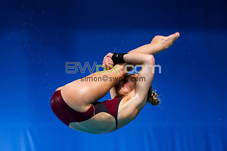 Picture by Alex Whitehead/SWpix.com - 31/07/2014 - 2014 Glasgow Commonwealth Games, Day 8 - Diving - Royal Commonwealth Pool, Edinburgh, Scotland - England's Sarah Barrow competes in the Women's 10m Platform prelims.