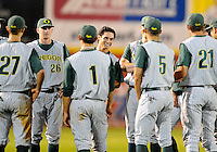 NCAA Regional action at Dodd Stadium in Norwich.  University of Oregon defeated UCONN 5-3.