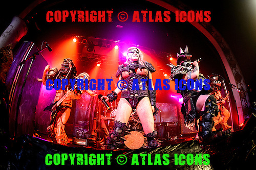 GWAR, LIVE, 2014, <br /> PHOTOCREDIT:  IGOR VIDYASHEV/ATLASICONS