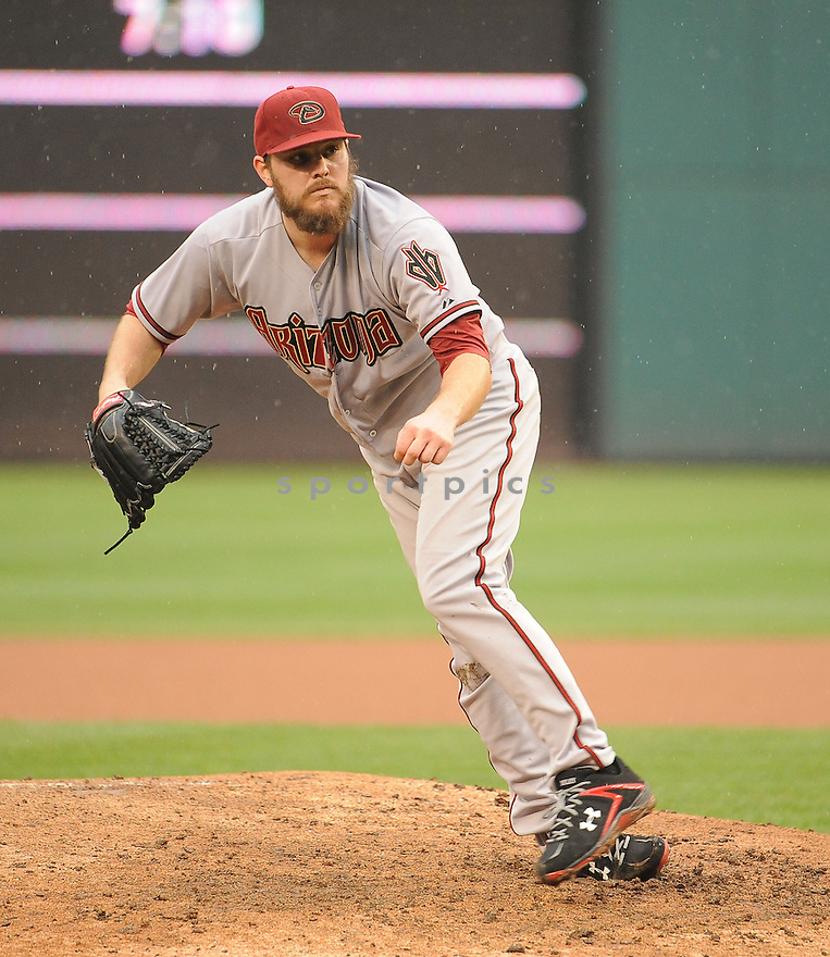 Arizona Diamondbacks Wade Miley (36) during a game against the Washington Nationals on August 21, 2014 at Nationals Park in Washington DC. The Nationals beat the Diamondbacks 1-0.