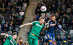 Stockholm 2015-02-16 Fotboll Tr&auml;ningsmatch Hammarby IF - LA Galaxy :  <br /> Hammarbys Erik Israelsson i duell med La Galaxys Juninho under matchen mellan Hammarby IF och LA Galaxy <br /> (Foto: Kenta J&ouml;nsson) Nyckelord:  Fotboll Tr&auml;ningsmatch Tele2 Arena Hammarby HIF Bajen Los Angeles LA Galaxy portr&auml;tt portrait