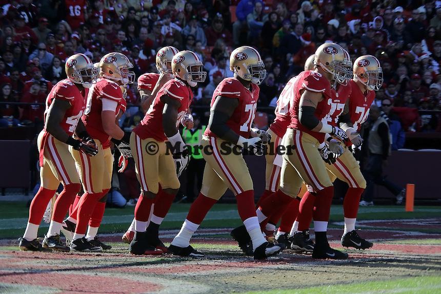 San Francisco 49ers stellen sich auf