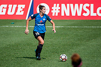 Kansas City, MO - Saturday September 9, 2017: Yael Averbuch during a regular season National Women's Soccer League (NWSL) match between FC Kansas City and the Chicago Red Stars at Children's Mercy Victory Field.