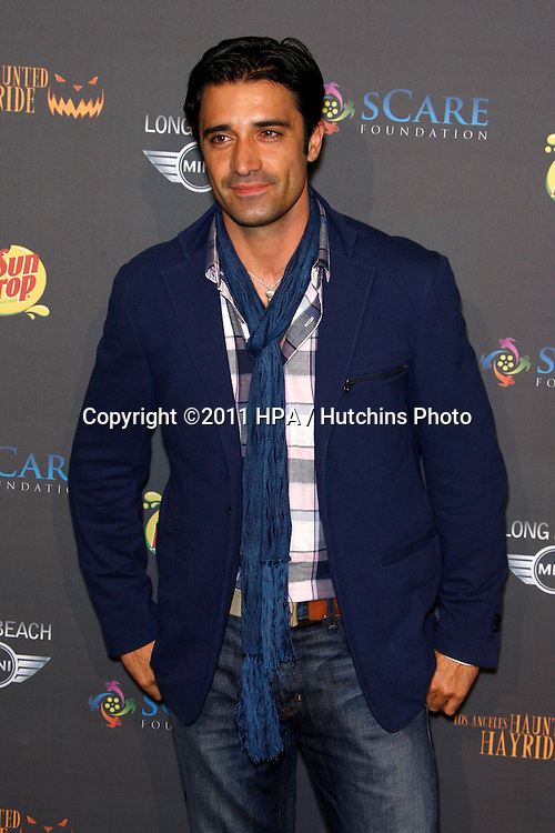 LOS ANGELES - OCT 9:  Gilles Marini arriving at the 3rd annual LA Haunted Hayride at the Griffith Park on October 9, 2011 in Los Angeles, CA