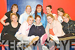 Steppin' Up: The new lady's dance squad at Joanne Barry's In-Step Dance School in Tralee where the women's classes have begun. Pictured at the first class of Fame 2009 on Wednesday night were front l-r Grace Kelter, Kate O'Regan, Denise Buckley, Gilly O'Keeffe and Emma O'Connor. Back l-r Richeal Moloney, Lisa Kelter, Joanne Barry (Instructor), Cassie Leen and Jennifer O'Shea.