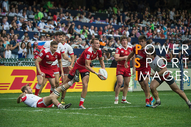 Russia vs Canada during the HSBC Hong Kong Rugby Sevens 2016 on 10 April 2016 at Hong Kong Stadium in Hong Kong, China. Photo by Li Man Yuen / Power Sport Images