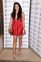 Jessica Cunningham<br /> arriving at James Ingham's Jog On To Cancer, in aid of Cancer Research UK at The Roof Gardens in Kensington, London. <br /> <br /> <br /> ©Ash Knotek  D3248  12/04/2017