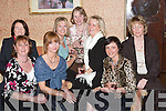 GLAMOUR: Glamour galore at Kirbys Lanterns Hotel, Tarbert, for dinner on Little Christmas. Photographed were Angela, Deirdre McElligott, Martina Garvey, Jacqueline Stackpoole, Teresa and Kay ODea, Mairead Sheehan and Mary OBrien..