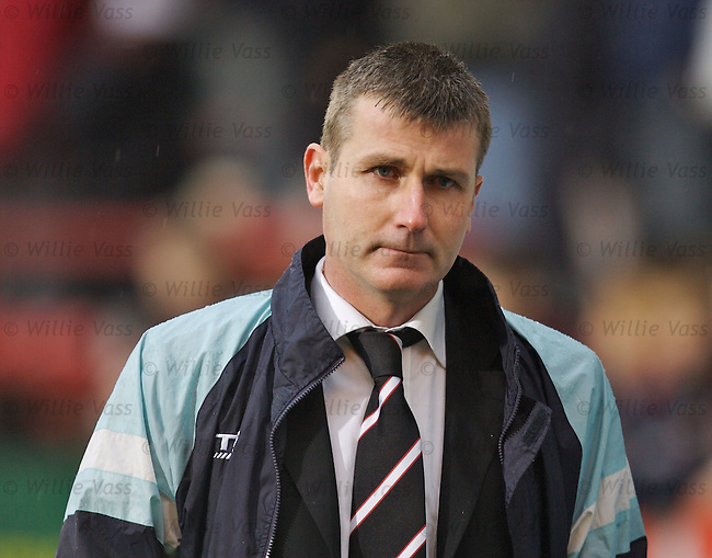 Stephen Kenny, Dunfermline.stock season 2006-2007.pic willie vass