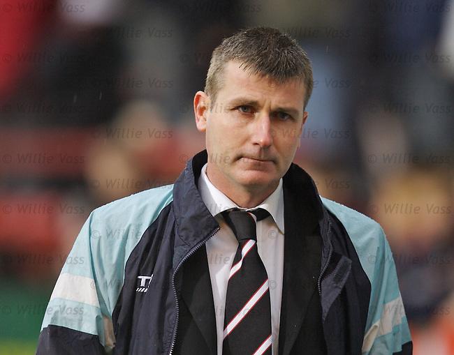 Stephen Kenny, Dunfermline.stock season 2006-2007.pic willie vass