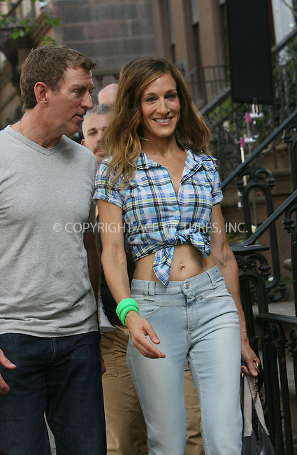 WWW.ACEPIXS.COM . . . . .  ....September 4 2009, New York City....Actress Sarah Jessica Parker and Director Michael Patrick King on the set of the new 'sex and the city' movie on September 4 2009 in New York City....Please byline: NANCY RIVERA - ACEPIXS.COM.... *** ***..Ace Pictures, Inc:  ..tel: (212) 243 8787..e-mail: info@acepixs.com..web: http://www.acepixs.com