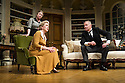 London, UK. 26.03.2014. Theatre Royal Bath Production's West End transfer of RELATIVE VALUES, by Noel Coward, opens at the Harold Pinter Theatre. Picture shows: Patricia Hodge (Felicity), Caroline Quentin (Moxie) and Rory Bremner (Crestwell). Photograph © Jane Hobson.