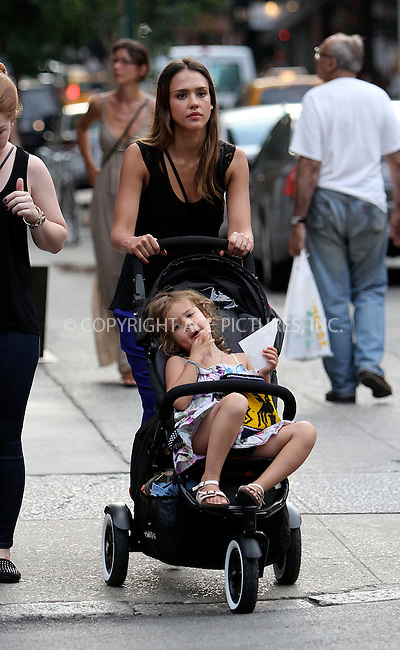 WWW.ACEPIXS.COM . . . . .  ....July 24 2012, New York City....Actress Jessica Alba takes her children Honor and Haven for a walk around Soho on July 24 2012 in New York City....Please byline: NANCY RIVERA- ACEPIXS.COM.... *** ***..Ace Pictures, Inc:  ..Tel: 646 769 0430..e-mail: info@acepixs.com..web: http://www.acepixs.com