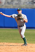 March 23, 2010:  Second Baseman Jeff Onstott (7) of the Dartmouth Big Green during a game at the Chain of Lakes Stadium in Winter Haven, FL.  Photo By Mike Janes/Four Seam Images