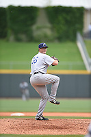 ***Temporary Unedited Reference File***Pensacola Blue Wahoos relief pitcher Nick Routt (36) during a game against the Birmingham Barons on May 2, 2016 at Regions Field in Birmingham, Alabama.  Pensacola defeated Birmingham 6-3.  (Mike Janes/Four Seam Images)