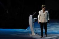 SAO PAULO, SP, 01 DEZEMBRO  2012 - SORTEIO COPA DAS CONFEDERACOES  - A presidente da Republica Dilma Rousseff  e visto durante sorteio dos grupos da Copa das Confederacoes  2013 neste sabado no Parque Anhembi regiao norte da capital paulista. FOTo: WILLIAM VOLCOV - BRAZIL PHOTO PRESS.