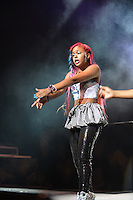 "MIAMI, FL - AUGUST 31: Breaunna ""Baby Doll"" Womack of OMG Girlz performs during Scream Tour with the Next Generation Pt. 2 at James L Knight Center on August 31, 2012 in Miami, Florida. (photo by: MPI10/MediaPunch Inc.) /NortePhoto.com<br />