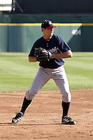 September 15, 2004:  Kelly Johnson of the Richmond Braves, Triple-A International League affiliate of the Atlanta Braves, during a game at Dunn Tire Park in Buffalo, NY.  Photo by:  Mike Janes/Four Seam Images