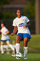 Boston Breakers midfielder Mariah Nogueira (20). Sky Blue FC defeated the Boston Breakers 5-1 during a National Women's Soccer League (NWSL) match at Yurcak Field in Piscataway, NJ, on June 1, 2013.