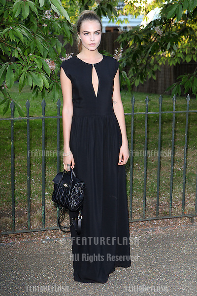 Cara Delevingne arriving for the Serpentine Summer Party, at the Serpentine Gallery, Hyde Park, London. 01/07/2014 Picture by: Alexandra Glen / Featureflash
