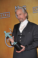 Michael Douglas at the 20th Annual Screen Actors Guild Awards at the Shrine Auditorium.<br /> January 18, 2014  Los Angeles, CA<br /> Picture: Paul Smith / Featureflash