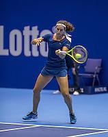 Rotterdam, Netherlands, December 13, 2016, Topsportcentrum, Lotto NK Tennis,   Rosalie van de Hoek (NED)<br /> Photo: Tennisimages/Henk Koster