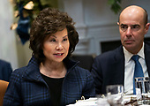 United States Secretary of Transportation Elaine Chao speaks during a roundtable on small business and red tape reduction with US President Donald J. Trump, at the White House in Washington, DC on Friday, December 6, 2019. <br /> Credit: Kevin Dietsch / Pool via CNP
