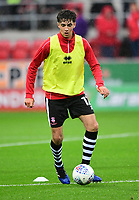Lincoln City&rsquo;s Ellis Chapman during the pre-match warm-up <br /> <br /> Photographer Chris Vaughan/CameraSport<br /> <br /> The Carabao Cup First Round - Rotherham United v Lincoln City - Tuesday 8th August 2017 - New York Stadium - Rotherham<br />  <br /> World Copyright &copy; 2017 CameraSport. All rights reserved. 43 Linden Ave. Countesthorpe. Leicester. England. LE8 5PG - Tel: +44 (0) 116 277 4147 - admin@camerasport.com - www.camerasport.com