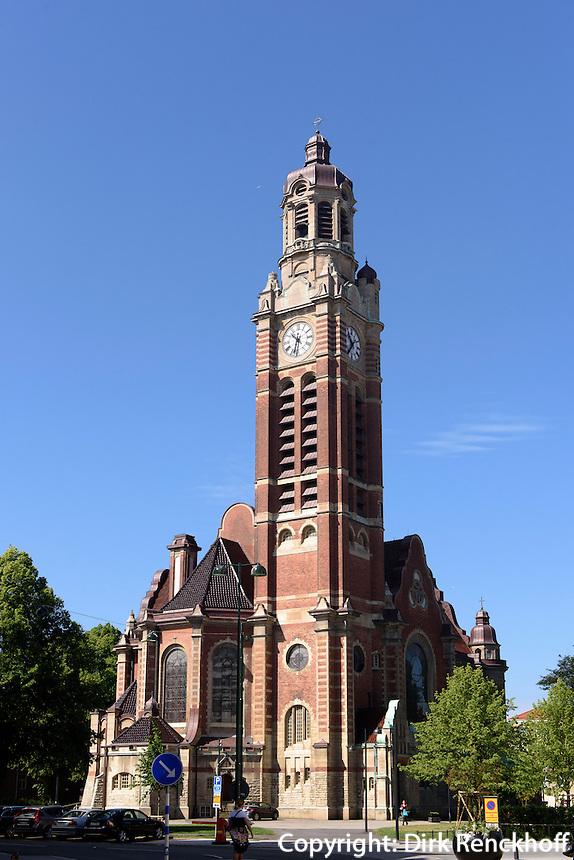 St.Johannes-Kirche, erbaut 1907 , Malm&ouml;, Provinz Sk&aring;ne (Schonen), Schweden, Europa<br /> St. John church in Malmo, Sweden