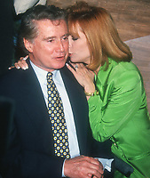 ***FILE PHOTO*** Regis Philbin Passes Away Aged 88.<br /> <br /> Regis Philbin and Kathie Lee Gifford 1994<br /> <br /> CAP/MPI/PHL/AS<br /> ©AS/PHL/MPI/Capital Pictures