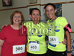 Helen O'Neill, Joan Dixon and Marcella McDonald who took part in the Seamie Weldon 5K Run in Ardee. Photo:Colin Bell/pressphotos.ie