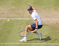 Den Bosch, Netherlands, 10 June, 2016, Tennis, Ricoh Open, Gilles Muller (LUX)<br /> Photo: Henk Koster/tennisimages.com