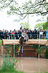 Badminton, Gloucestershire, United Kingdom, 4th May 2019, Kazuma Tomoto riding Tacoma D'Horset during the Cross Country Phase of the 2019 Mitsubishi Motors Badminton Horse Trials, Credit:Jonathan Clarke/JPC Images