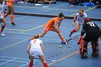 ZAALHOCKEY: HEERENVEEN: 15-12-2015, Sportstad, NEDERLAND - POLEN, ©foto Martin de Jong