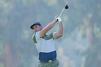 Bryson DeChambeau (USA) In action during the third round of the The Genesis Invitational, Riviera Country Club, Pacific Palisades, Los Angeles, USA. 14/02/2020<br /> Picture: Golffile | Phil Inglis<br /> <br /> <br /> All photo usage must carry mandatory copyright credit (© Golffile | Phil Inglis)