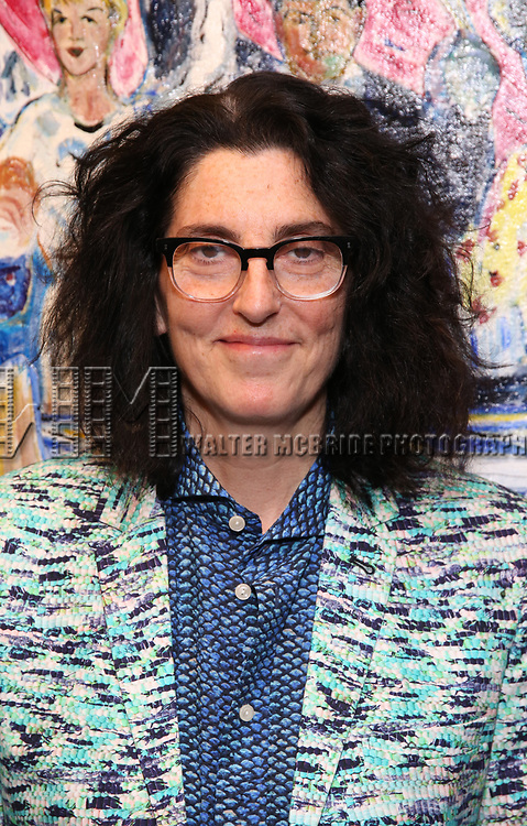 Tina Landau attends the 2018 Outer Critics Circle Theatre Awards at Sardi's on May 24, 2018 in New York City.