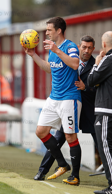 Lee Wallace and Pedro Caixinha