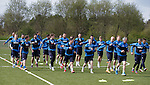 080515 Rangers training