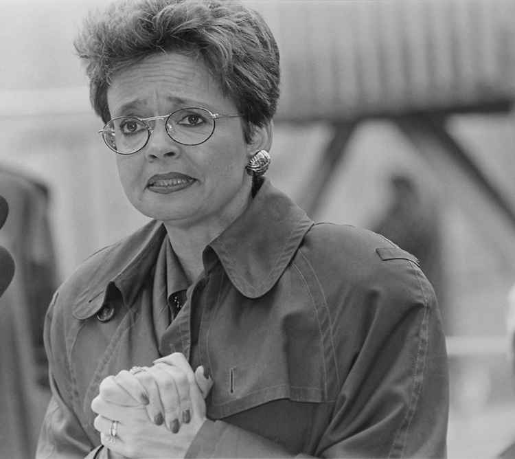 Mayor Sharon Pratt Kelly, D-D.C., in November 1993. (Photo by Maureen Keating/CQ Roll Call via Getty Images)