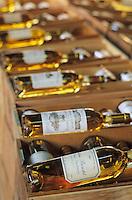 Europe/France/Aquitaine/33/Gironde/Sauternais /Barsac: La maison du Sauternes - Détail bouteilles