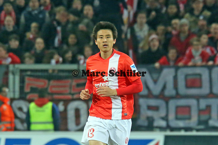 Ja-Cheol Koo (Mainz) - 1. FSV Mainz 05 vs. Hannover 96, Coface Arena, 21. Spieltag